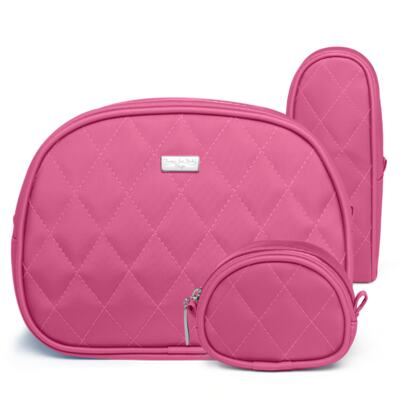 Imagem 3 do produto Kit Mala Maternidade para bebe + Kit Acessórios Colors Pink - Classic for Baby Bags
