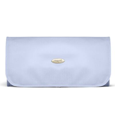 Imagem 6 do produto Mala Maternidade para bebe + Bolsa Marselle + Frasqueira Térmica Toulousse + Necessaire + Trocador Nácar Azul  - Classic for Baby Bags