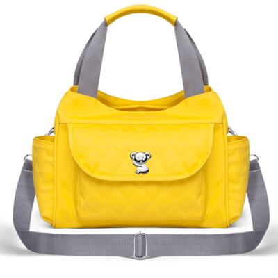 Imagem 3 do produto Kit Mala Maternidade para bebe + Bolsa Havana + Frasqueira Térmica Aruba + Trocador Portátil Colors Yellow - Classic for Baby Bags