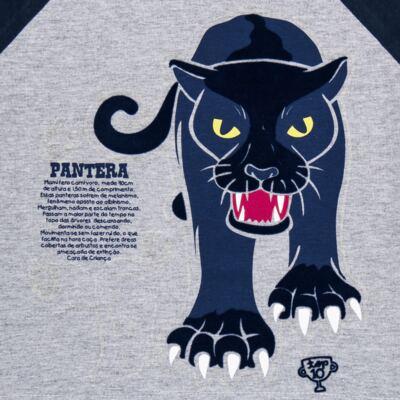 Imagem 4 do produto Pijama longo que Brilha no Escuro Panther - Cara de Criança - L2289 PANTERA L PJ LONGO M/MALHA -3