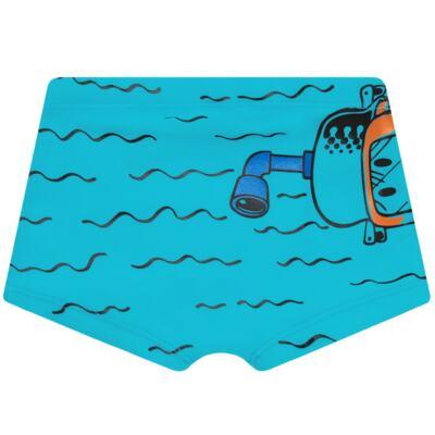 Imagem 5 do produto Conjunto de Banho Maluquinho Mergulhador: Camiseta + Sunga - Cara de Criança - KIT1-1308: SB1308 SUNGA + CCA1308 CAMISETA PIRATA MALUQUINHO-3