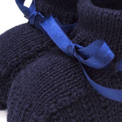 Imagem 3 do produto Botinha em tricot Marinho - Roana