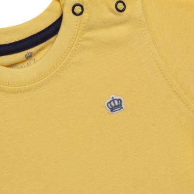 Imagem 2 do produto Camiseta em malha Amarela - Mini & Classic - 6003672 CAMISETA MC MALHA AMARELA-P