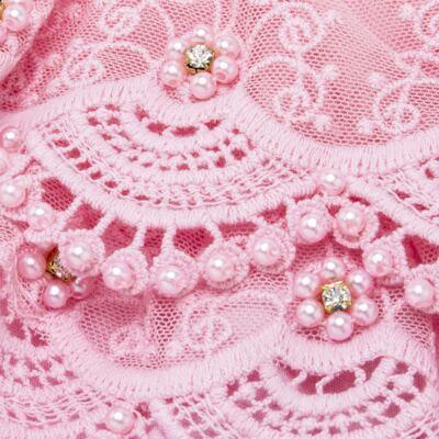 Imagem 3 do produto Calcinha em tricoline Renda & Pérolas Rosa - Roana - CLES0020046 CALCINHA ESPECIAL ROSA -M