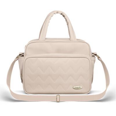 Imagem 4 do produto Mala Maternidade para bebe + Bolsa Turin + Térmica Trento +  Térmica Firenze + Kit Acessórios Chevron Ágata - Classic for Baby Bags