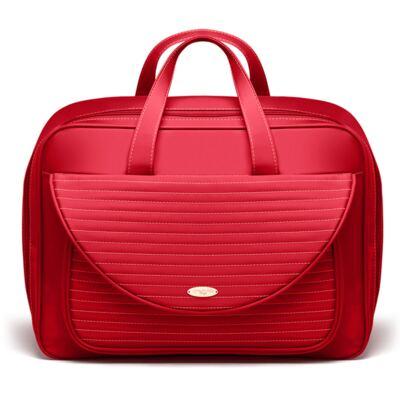 Imagem 2 do produto Kit Mala Maternidade para bebe + Bolsa Renan + Kit Acessórios Golden Vermelho- Classic for Baby Bags