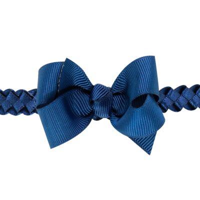 Imagem 2 do produto Faixa de cabelo trançada Laço Marinho - Roana - 23840020008 FAIXA TRANÇADA MARINHO