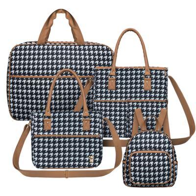 Imagem 1 do produto Mala maternidade + Bolsa M + Frasqueira + Mochila Class - Classic for Baby Bags