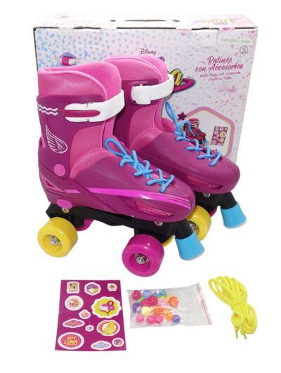 Imagem 2 do produto Patins Sou Luna Roller Skate 4 Rodas Basico Multikids - BR714