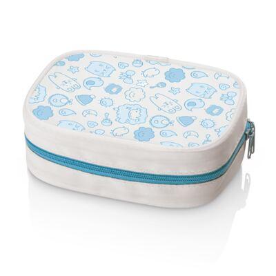 Imagem 1 do produto Kit Higiene Azul Multikids Baby - BB097