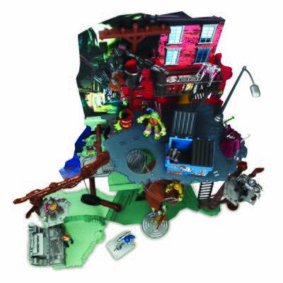 Imagem 2 do produto Tartarugas Ninja Play Set - Multikids - BR037
