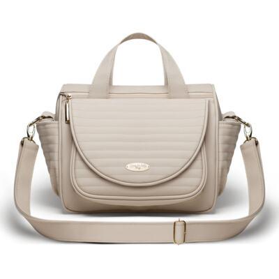 Imagem 2 do produto Kit Bolsa maternidade para bebe Renan + Bolsa Estoril Golden Marfim - Classic for Baby Bags