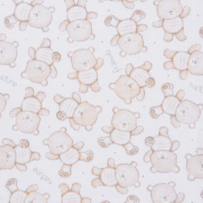 Imagem 3 do produto Pack: 02 Bodies longos para bebe em algodão egípcio c/ jato de cerâmica Nature Little Friends - Mini & Classic - 1023650 PACK 2 BODIES ML SUEDINE NATURE -M