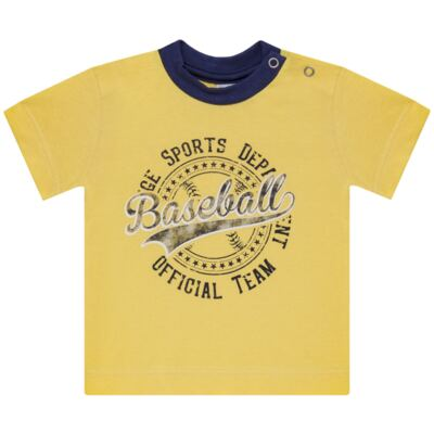 Imagem 2 do produto Camiseta com Shorts em tactel Baseball - Vicky Lipe - 9451367 CAMISETA MC C/ SHORTS TACTEL SPORT 2-1