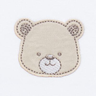 Imagem 5 do produto Pack: 02 Bodies longos para bebe em algodão egípcio c/ jato de cerâmica Nature Little Friends - Mini & Classic - 1023650 PACK 2 BODIES ML SUEDINE NATURE -G
