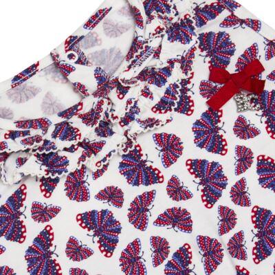 Imagem 2 do produto Macaquinho em viscolycra Butterflies - Baby Classic - 22781628 MACAQUINHO REGATA VISCOLYCRA BUTTERFLY -3