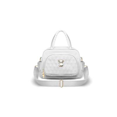 Imagem 3 do produto Kit Bolsa maternidade para bebe Veneza + Frasqueira Térmica Milão Golden Koala Branco - Classic for Baby Bags