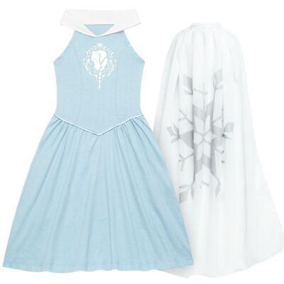Imagem 1 do produto Camisola em malha Frozen Elsa - Disney by Fefa - 390.00.3014 CAMISOLA FROZEN UNICA -8