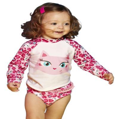 Imagem 1 do produto Camiseta para bebe em lycra Gatinha - Puket