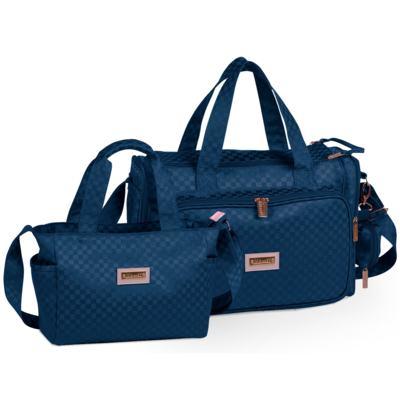 Imagem 1 do produto Bolsa Anne + Frasqueira Alice Paris Marinho - Masterbag