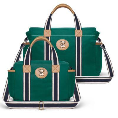 Imagem 1 do produto Bolsa Albany + Frasqueira Térmica Gold Coast em sarja Adventure Verde Oliva - Classic for Baby Bags