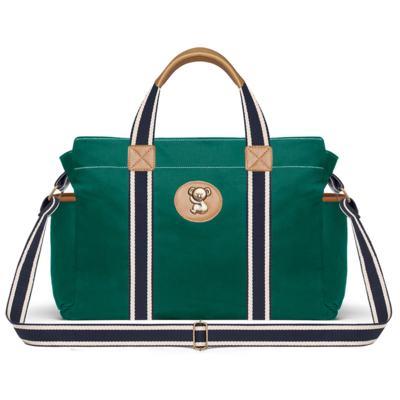 Imagem 2 do produto Bolsa Albany + Frasqueira Térmica Gold Coast em sarja Adventure Verde Oliva - Classic for Baby Bags