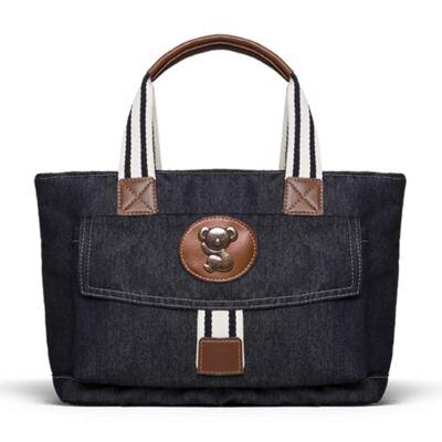 Imagem 4 do produto Bolsa Passeio para bebe + Bolsa Melbourne + Frasqueira Térmica Brisbane + Porta Mamadeira Adventure Jeans - Classic for Baby Bags