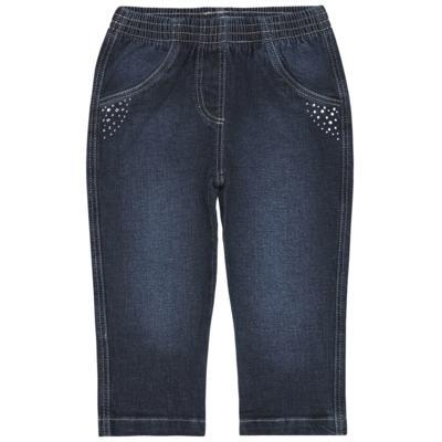 Imagem 1 do produto Calça jeans para bebe Little Heart - Tilly Baby - TB166003 CALCA JEANS FEM -1