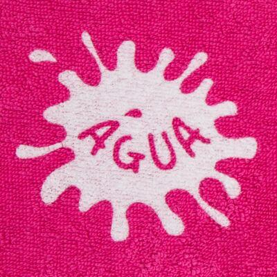 Imagem 2 do produto Roupão atoalhado com capuz Pink - Cara de Criança - RO2166 ROUPAO PINK RO ROUPAO ATOALHADO-3