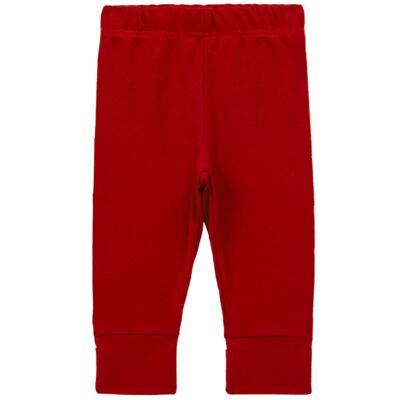 Imagem 1 do produto Calça (mijão) para bebe em cotton touch Vermelha - Mini Sailor - 83024263 MIJAO PE REVERS AVULSO SUEDINE VERMELHO-NB