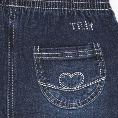 Imagem 3 do produto Calça jeans para bebe Little Heart - Tilly Baby - TB166003 CALCA JEANS FEM -P