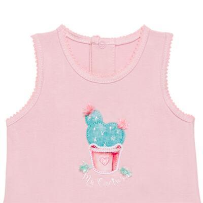 Imagem 2 do produto Body vestido para bebe em cotton Cactus Flower - Petit