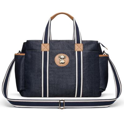 Imagem 2 do produto Bolsa Maternidade para bebe Albany +  Frasqueira Térmica Gold Coast Adventure Jeans - Classic for Baby Bags