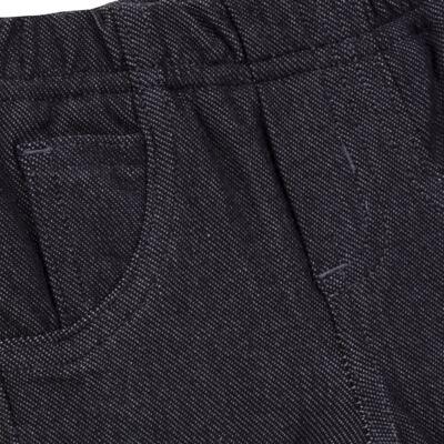 Imagem 6 do produto Calça para bebe forrada em fleece & pelúcia Dark Denim - Mini & Classic - CLCF4169 CALÇA C/ FORRO FLEECE/ MAL PUG-M