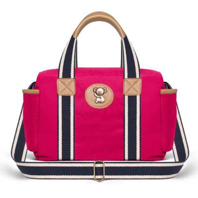Imagem 2 do produto Bolsa Térmica para bebe + Mochila Adventure em sarja Pink - Classic for Baby Bags