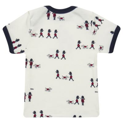 Imagem 4 do produto Camiseta com Cobre Fralda em algodão egípcio Royal Guard - Bibe - 39G80-G93 CJ CUR M CM+TP BY BIBE-GG