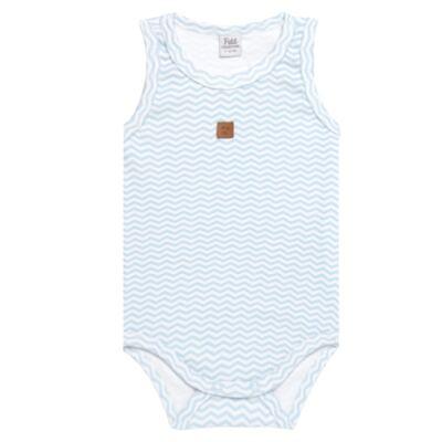 Imagem 1 do produto Body regata para bebe em suedine Ovelhinha Azul - Petit - 01194345 BODY REGATA AVULSO SUEDINE OVELHA MASC-M