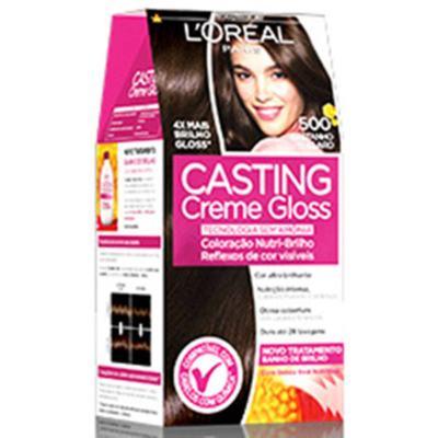 Imagem 2 do produto Coloração Casting Creme Gloss L'Oréal Paris - 500 Castanho Claro