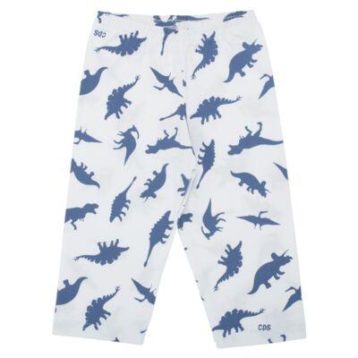 Imagem 3 do produto Pijama longo em malha Dinossauros - Cara de Sono - L3490 PIJAMA LONGO MALHA DINOS-1