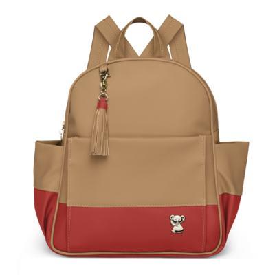 Imagem 2 do produto Mochila maternidade Davos + Necessaire Due Colore Coral -  Classic for Baby Bags