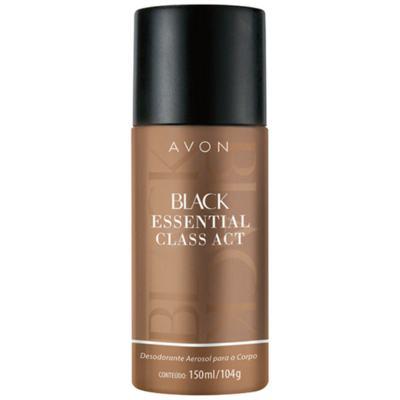 Imagem 2 do produto Black Essential Class Act Desodorante Aerosol Corpo 150ml - 150mL