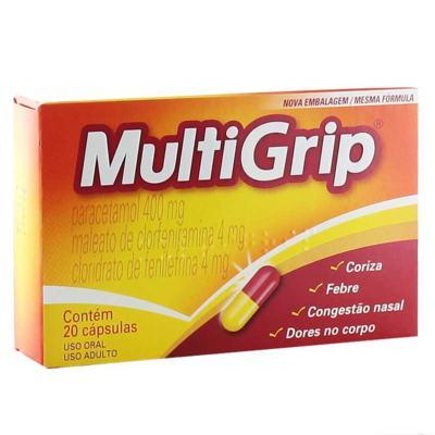 Multigrip - 20 cápsulas