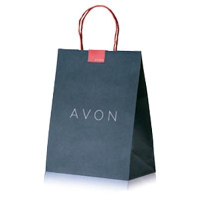 Sacola para Presentes Avon - Preta