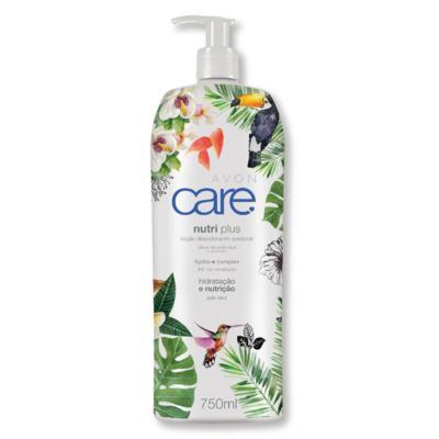 Imagem 1 do produto Loção Desodorante Corporal Avon Care Nutri Plus 750ml