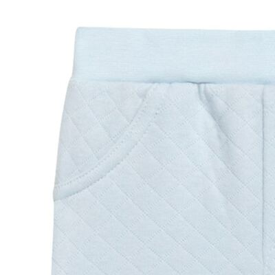 Imagem 2 do produto Calça para bebe em viscomfort matelassê Bleu - Petit - 41144345 CALÇA AVULSA MATELASSE OVELHA MASC-3