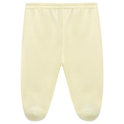 Imagem 1 do produto Calça (mijão) para bebe em suedine Amarela - Tilly Baby - TB13104.07 CULOTE DE SUEDINE AMARELO-RN