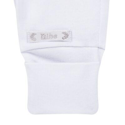 Imagem 2 do produto Calça (mijão) para bebe em algodão egípcio Branca - Bibe - 01B01-01 CL PEQ BVM BY BIBE-RN