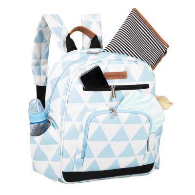 Imagem 5 do produto Mala Maternidade com Rodízio + Bolsa Everyday + Frasqueira térmica Emy + Mochila Noah Manhattan Azul - Masterbag
