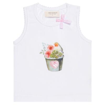 Imagem 2 do produto Regata c/ Cobre fralda para bebe em cotton Love Cactus - Petit - 17024300 CJ REGATA NAD. CALCINHA COTTON/VISC LOVE CACTUS-G