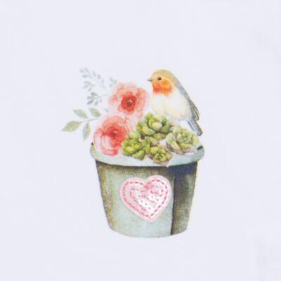 Imagem 4 do produto Regata c/ Cobre fralda para bebe em cotton Love Cactus - Petit - 17024300 CJ REGATA NAD. CALCINHA COTTON/VISC LOVE CACTUS-G